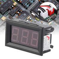 4/3 Digital LED Blue Tachometer RPM Speed Meter Hall Proximity Switch Sensor Digital Voltmeter 100V