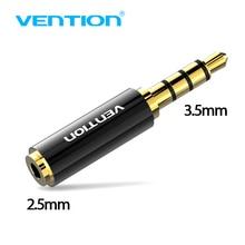 Prise de protection 3.5mm à 2.5mm adaptateur Audio 2.5mm mâle à 3.5mm prise femelle connecteur pour câble haut parleur Aux prise casque 3.5