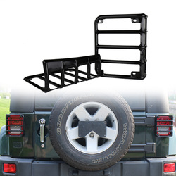The vectra jeep wrangler taillight chimney black metal tail light box modified special protective casing