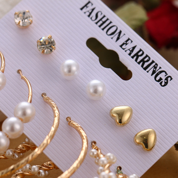 VKME Boho Tassel Earrings Bohemian Long Earrings Set For Women Brincos Geometric Fabric Earring Female Fashion Jewelry 4