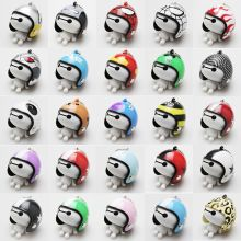 Hot Baymax Figures Key Chain Motorcycle Safety Helmet Keychain Men Holder Women Cute Trendy Ring for Car Purse Bag Gift
