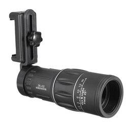 Odkryty 20X Zoom optyczny teleskop do telefonu turystyka telefon komórkowy monokular optyczny zdjęcie z kamery obiektyw dla iphone dla Huawei