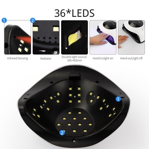 Image 4 - 120W 168W Smart Sensor UV Nagel Lampe Nägel Trockner LED UV Eis Lampe Maniküre Pediküre Nagel Gel Aushärtung lack UV Licht Schnell Trocknende