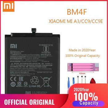 BM4F 100% Original XIAO MI Phone Battery for Xiaomi Mi A3 CC9 CC9e Replacement Batteries Xiomi bateria CC9 Mi9 Lite