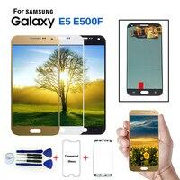 Original 5.0 AMOLED LCD for SAMSUNG Galaxy E5 LCD Display Touch Screen Digitizer For Galaxy E5 E500 E500M E500F E500H Display