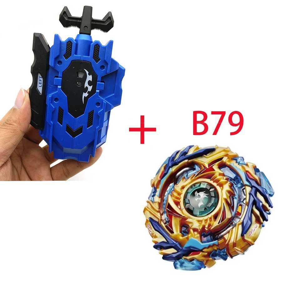 Волчок Beyblade BURST B-130 B-117 с пусковым устройством Bayblade Bay blade металл пластик Fusion 4D Подарочные игрушки для детей - Цвет: B79