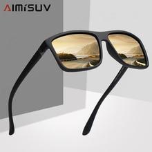 AIMISUV Polarized Square Men Sunglasses Brand Vintage Drivin