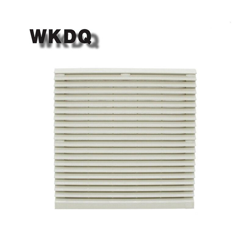 FK-9805-300 Cabinet  Ventilation Filter Set Shutters Cover  Fan Waterproof Grille Louvers Blower Exhaust Filter Without Fan