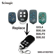 Ditec GOL4 Ditec BIXLP2 compatible remote control transmitter DITEC garage gate door opener door control 433,92Mhz rolling code ditec gol4 bixlp2 bixls2 bixlg4 replacement remote control free shipping
