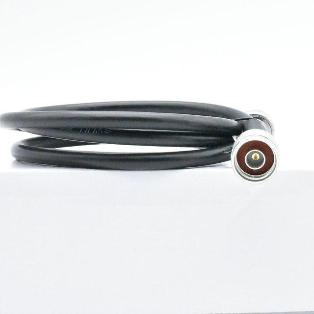 Amplificateur de Signal de téléphone portable 5 m N connecteur mâle 5 mètres 50ohm 5D câble Coaxial pour amplificateur de répéteur de Signal de téléphone portable