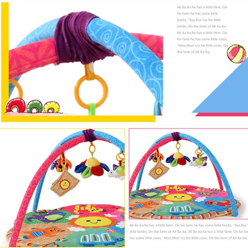 Jouet bébé tapis de Gym tapis de jeu tapis Musical enfants Caterpillar tapis d'activité bébé pour enfants jouet éducatif loisirs - 2