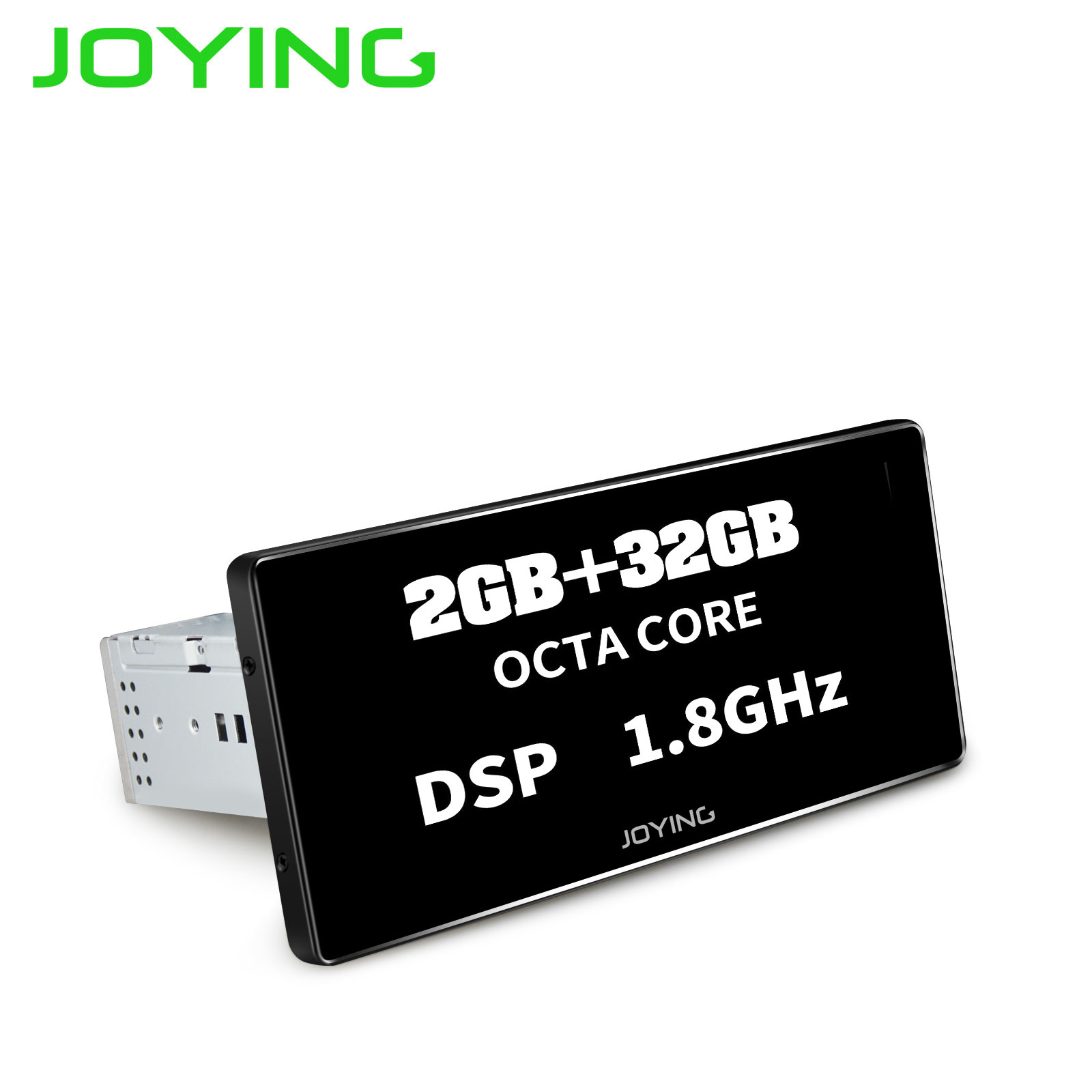 Joying Universal Single 1 Din 8.8 Android Car Stereo Multimedia Player Mirror Link 2G RAM 32G ROM Radio Audio DSP Dash Camera image