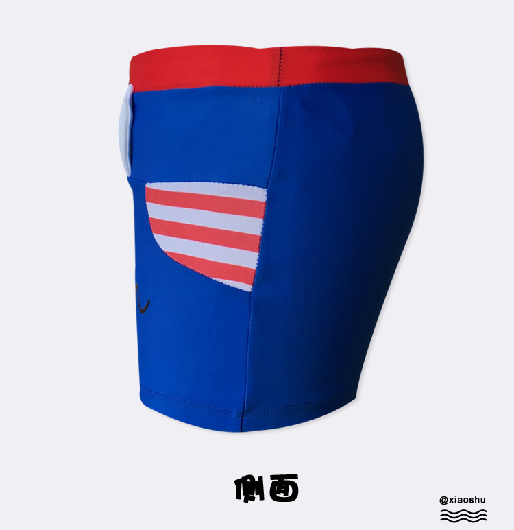 Cartoon Children Swimming Trunks Baby Cute Swimming Trunks Men's Children Sports Quick-Dry Boxers Bathing Suit