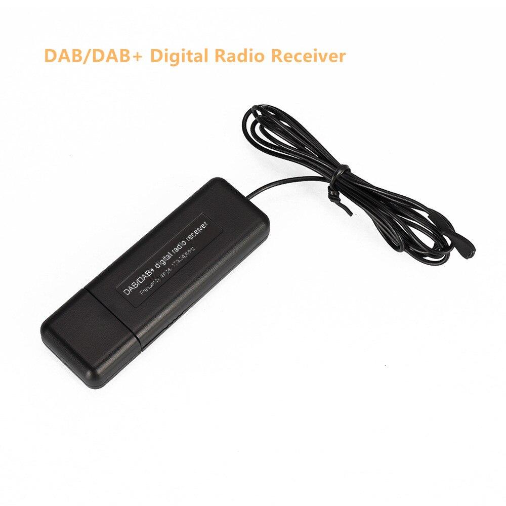 Мини DAB/DAB + радиоприемник, цифровое вещание, прием усиления, простые универсальные портативное USB аудио вещание