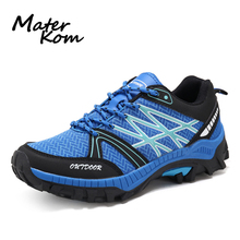 New Style Men Hiking Shoes Wear-resistant Trekking Tactical