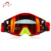 Scrambling Motorcycle Helmet Race Car Tearable Film Goggles Outdoor Riding Bicycle Glass Sand proof Anti fog Glasses Downhill Mi