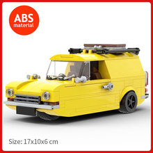 DIY Bricks Car Model Famous In TV Only Fools and Horses high-tech Stunt Vehicle MOC Building Blocks Kids Toys Children Idea Gift