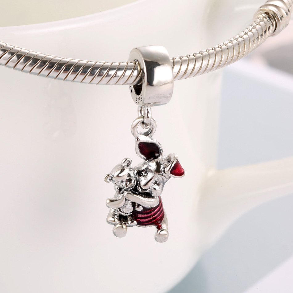 EoCot Star Heart Necklace for Women Australian Crystal Pendant Necklaces