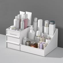 Makeup Drawers Organizer Box Jewelry Lipstick Storage Boxes Organizzatore Cassetti Container Make Up Case Cosmetic Container acrylic cotton swab makeup organizer storage box portable container make up cotton jewelry case cosmetics organizer storage case