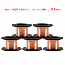 Copper-Wire Winding-Wire Solenoid-Repair Thin 5pcs Rotor DIY