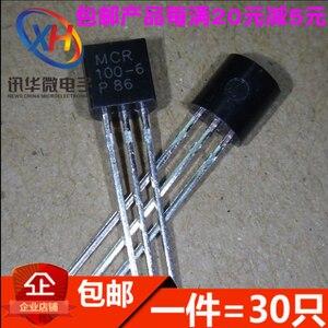 Xinyuan MCR100-6 one-way thyristor PARA 0.8 A / 400V- 92 (100 Pçs/lote)