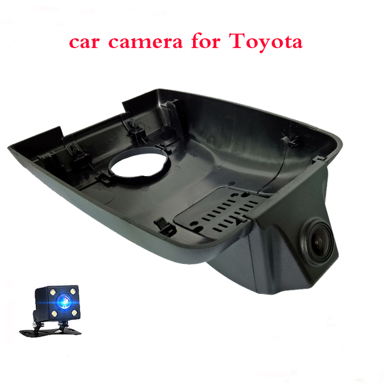 1080P Auto Wifi Car Dvr Driving Video <font><b>Dash</b></font> <font><b>Cam</b></font> Camera Car Recorder Dual Lens with Rearview for Toyota Highlander 2018 <font><b>2019</b></font> image