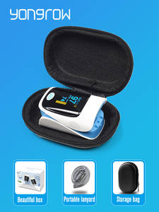 Yongrow Pulse Oximeter Pr-Monitor Blood-Oxygen Fingertip Health-Care Digital Medical