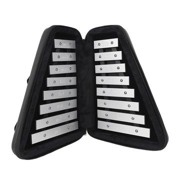 High quality AF-30 Fordable Glockenspiel Sound Metal Keys Soprano Piano Children's Musical Learning Percussion Instrument