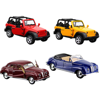 1:32 Simulation Alloy Toy Cars Diecast Pull Back SUV Car Model Off-road Children Toys Off-road Vehicles Christmas Gifts For Kids image