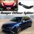 Автомобильный разветвитель  диффузор  бампер  Canard  для Audi A4  RS4  S4