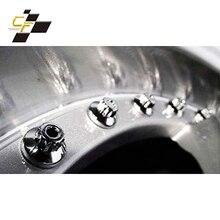 Wheel Rivets Silver Universal Black for XXR Rim Lip-Decoration 25pcs Nuts-Replacement