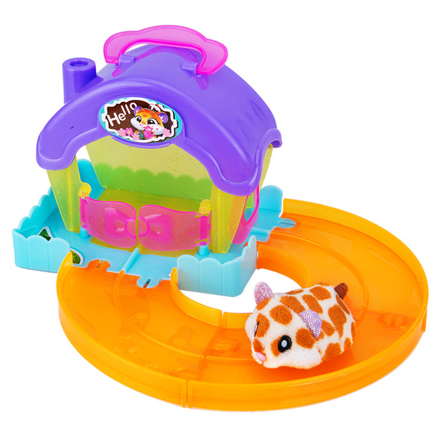 Hamsters in the Series 2 Mini cake shop Bakery Food Frenzy Hamster with Accessories Toys Birthday Surprise Kids Gift 3