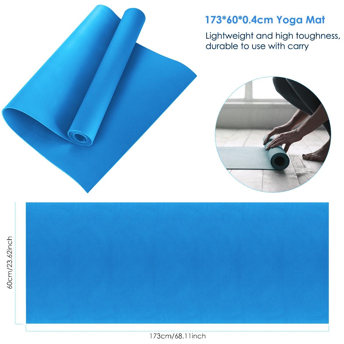 40mm esteira da ioga almofada de exercício