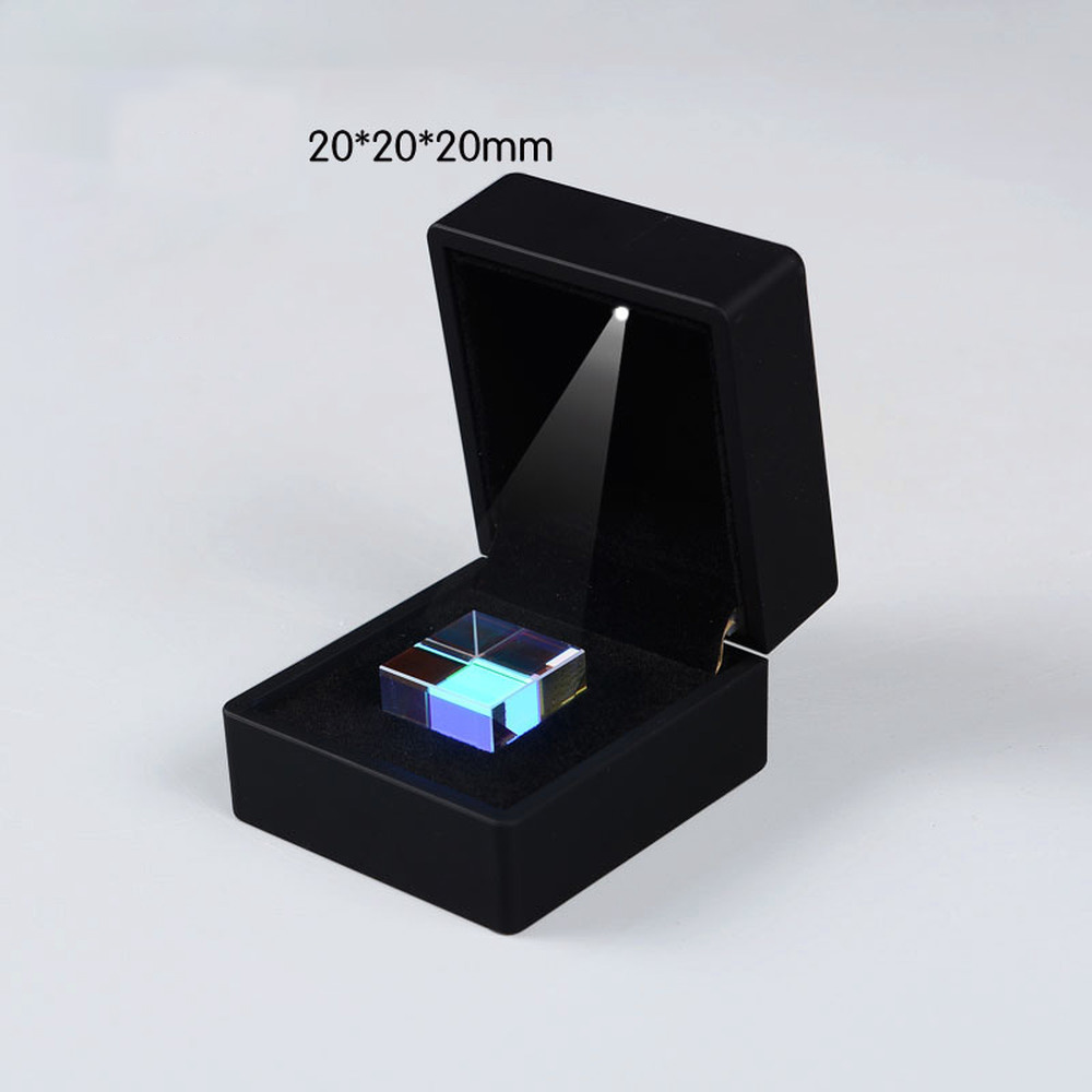 20*20*20mm CUBE Of Light Cube A Gift From  Optical Science Prism  Creative Ornaments