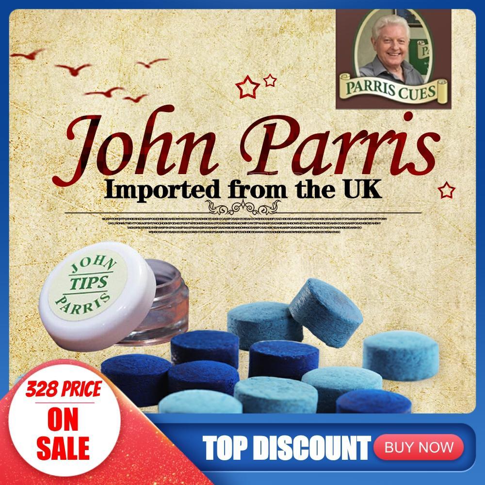Original  JOHN PARRIS 10mm/11mm H/M Billiard Snooker Cue Tip High Quality Professional Billar Accessories