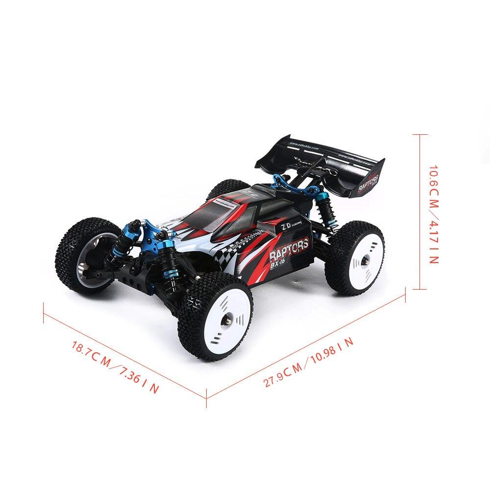 Voiture RC haute vitesse 60 KM/H 1:16 course escalade voiture 2.4G télécommande jouets voitures sur la Radio contrôlée 4x4 conduire hors route jouets - 3