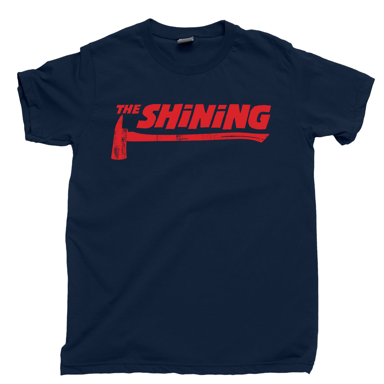 THE SHINING AXE T Shirt Stanley <font><b>Kubrick</b></font> Overlook Hotel Redrum Heres Johnny Tee image
