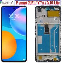 Écran tactile LCD pour Huawei P smart 2021, pour Huawei Honor 10X lite X10 lite Y7a, nouveau