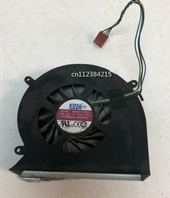 Free Shipping BASA1125R2U P010 DC 12V 0.70A 4-wire Server Laptop Cooler Fan