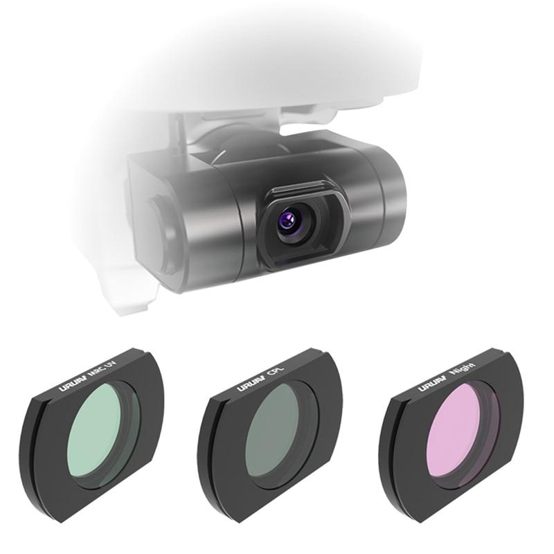 URUAV For Hubsan ZINO H117S/ZINO PRO Camera Lens Filter UV/CPL/ND4/ND8/ND16/ND32/NIGHT Combo Set Apply On RC Drone
