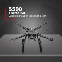 S500 480mm Wheelbase 10 Inch Frame Kit PCB Version With Carbon Fiber Landing Gear For RC Drone FPV Quad Gopro Gimbal|Kits de acessórios p/ drone| |  -