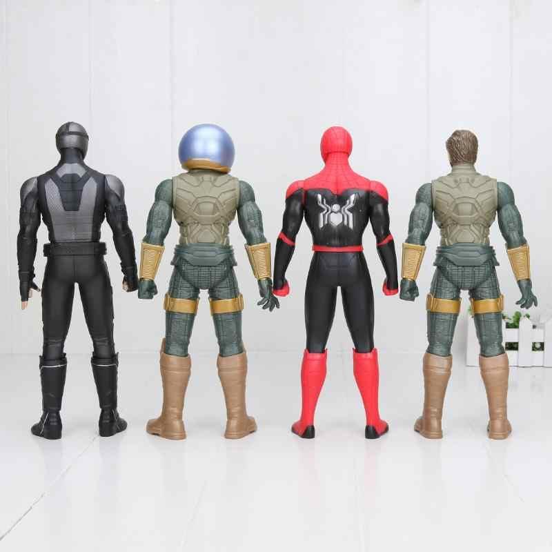 30cm 마블 전설 Mysterio 스파이더 맨 멀리 홈 그림 액션 12 인치 스파이더 맨 뜨거운 장난감 크리스마스 어린이위한