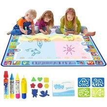 Coolplay Magische Water Tekening Mat Kleuring Doodle Mat Met Magic Pennen Montessori Speelgoed Schilderen Board Educatief Speelgoed Voor Kinderen