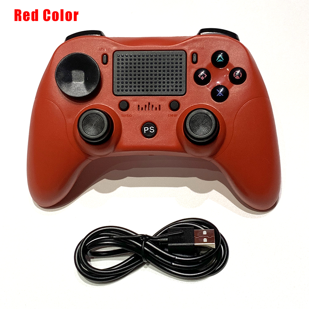 2019 Wireless Bluetooth Game controller for PS4 Dual Shock Vibration Joystick Gamepads for PS3 Console for PlayStation 4 replace 1