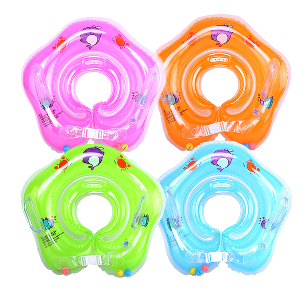 Baby Accesories Neck Ring Inflatable Swimming Ring Children's Float Safety Infant Bathing Float Circle Pool Inflatable Buoy