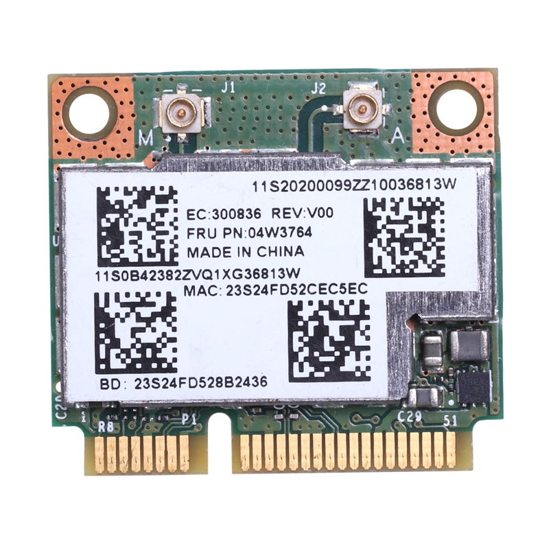 Pci-E-Card Wireless Dual-Band WIFI BCM943228HMB Bluetooth-4.0 MINI For IBM Lenovo/E430/E431