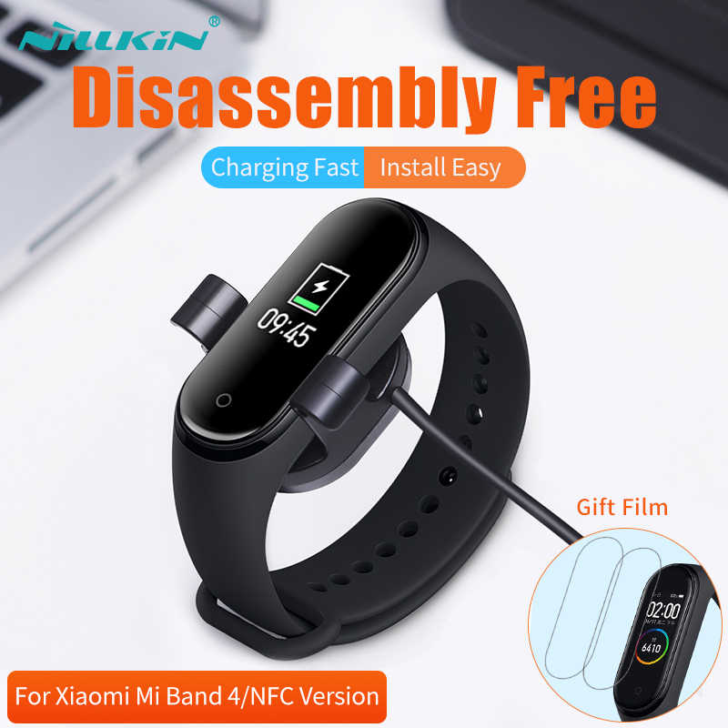 NILLKIN Voor xiaomi mi Band 4 Charger Cable mi band 4 voor xiaomi mi band 4 global lader Usb LADER voor xiaomi smart band 4