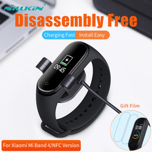 NILLKIN For Xiaomi Mi Band 4  Charger Miband 4  for xiaomi mi band 4 global strap USB charger for xiaomi smart band 4
