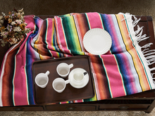 Mexican Thick Rainbow Blanket Car Office Nap Sleep Air Condition Travel Outdoor Camping Picnic Mat