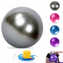 Fitness-Ball Yoga-Ball 65cm Balance Foot-Pump Exercise Pilates Gym 55cm 75cm with Quick